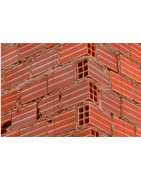 Anchors, profiles and accessories for ventilated facades in brick wall