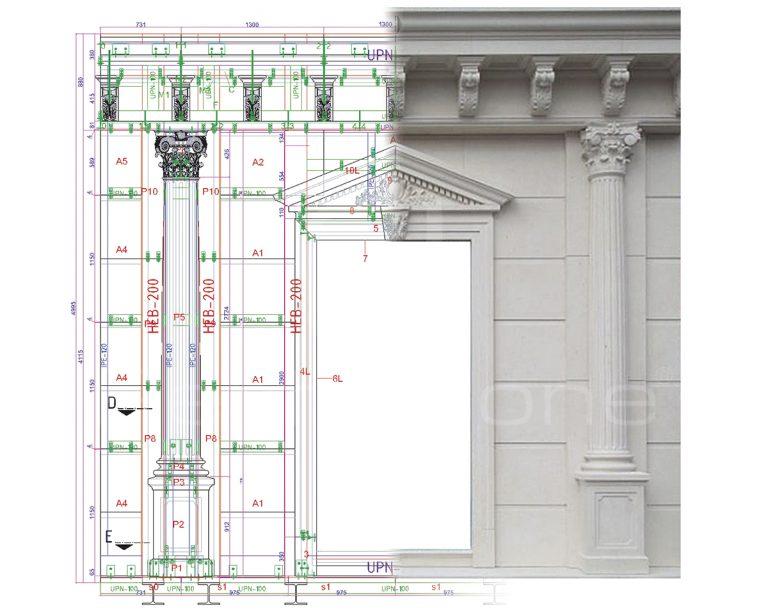 Detalle técnico de proyecto Perfilstone